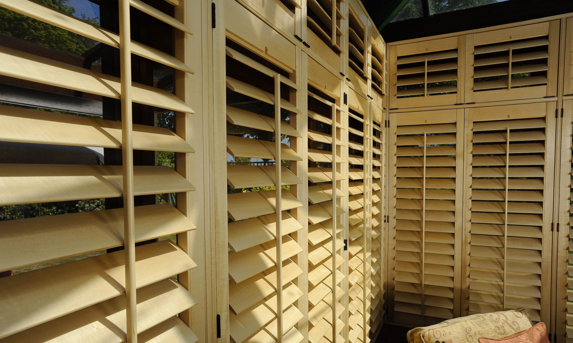 Wooden Shutters Installation