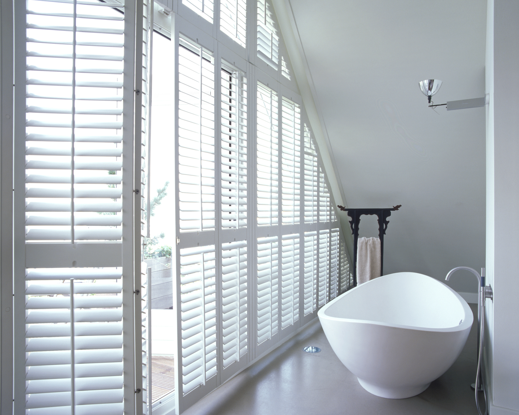 Bathroom Shutters Shading Places