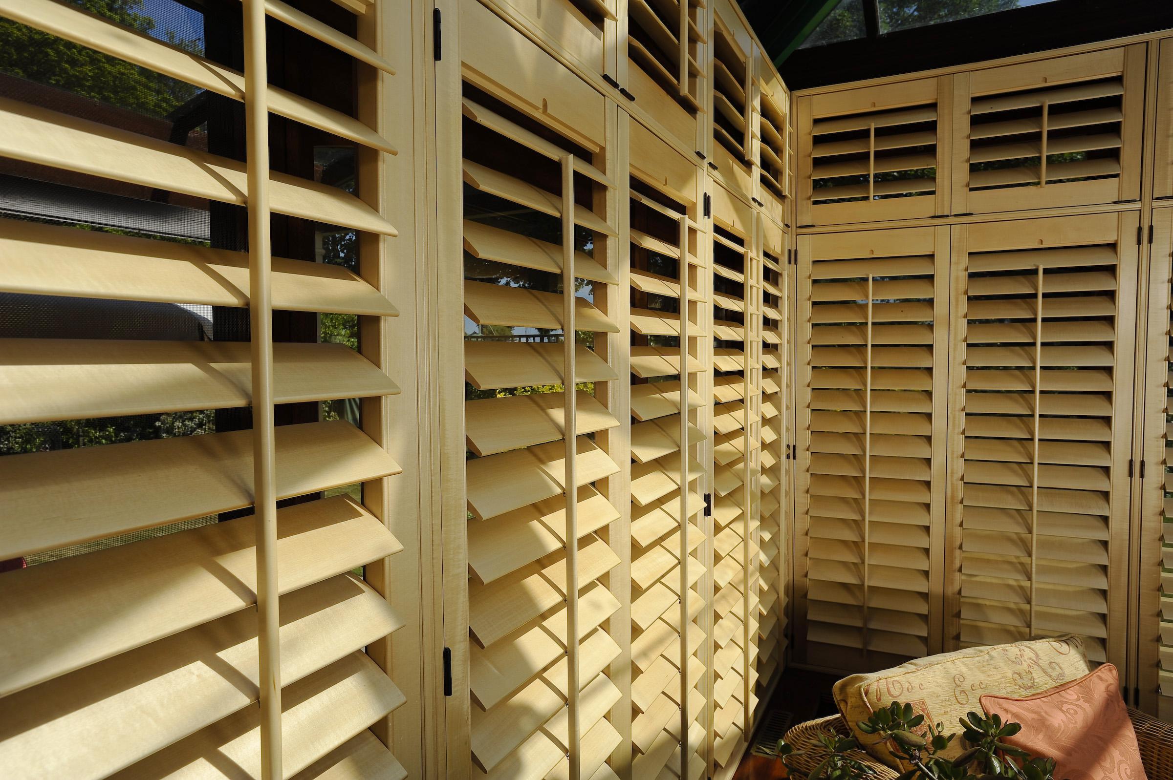 shutter conservatory